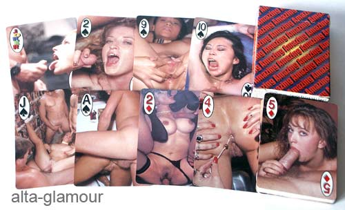 porn playing card