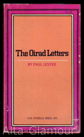 THE OIRAD LETTERS. Paul Lester.