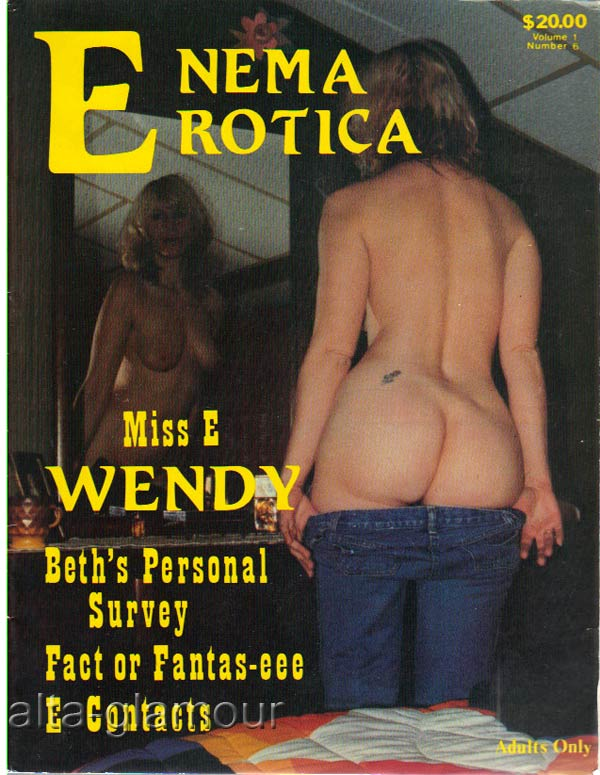 Drawing porn vintage enema remarkable, the valuable