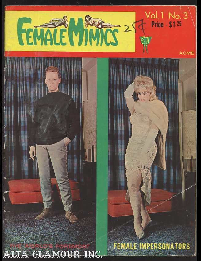 FEMALE MIMICS; The World's Foremost Female Impersonators