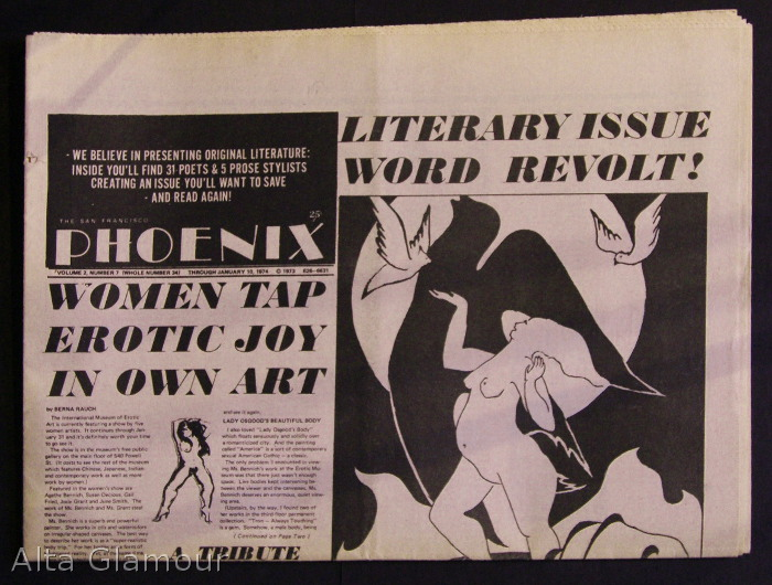 THE SAN FRANCISCO PHOENIX; A Journal of News, The Arts, and Informed Dissipation. John Bryan.