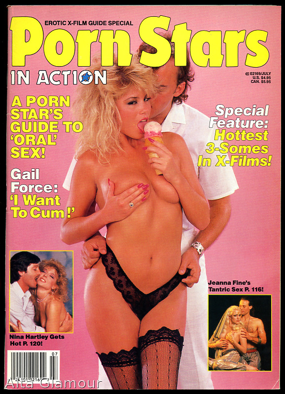 PORN STARS IN ACTION; Erotic X-Film Guide Special