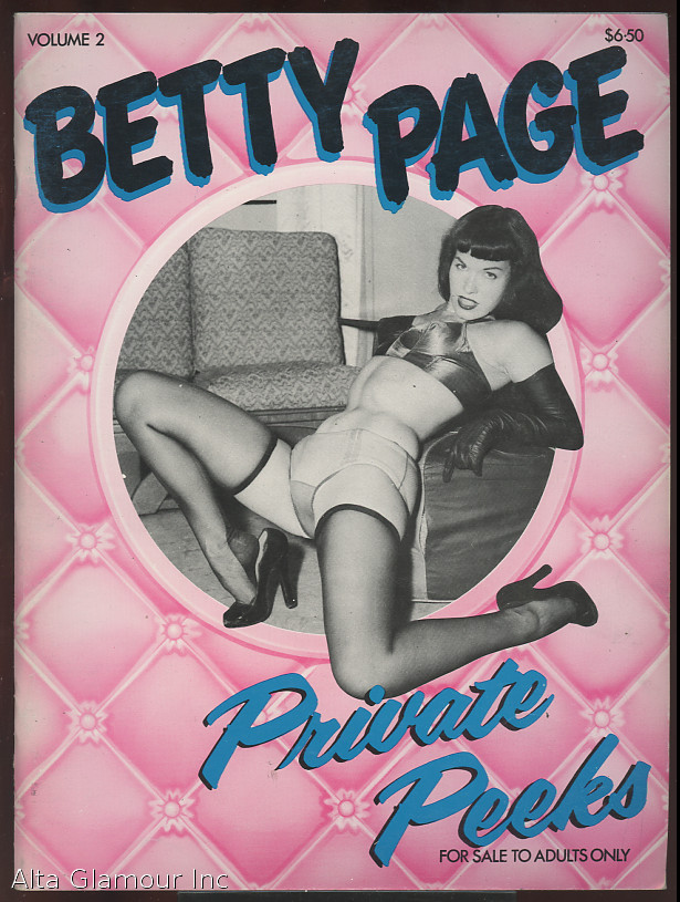 BETTY PAGE: PRIVATE PEEKS