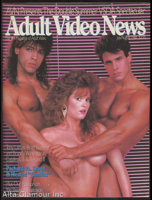 ADULT VIDEO NEWS; The #1 Magazine of Adult Video
