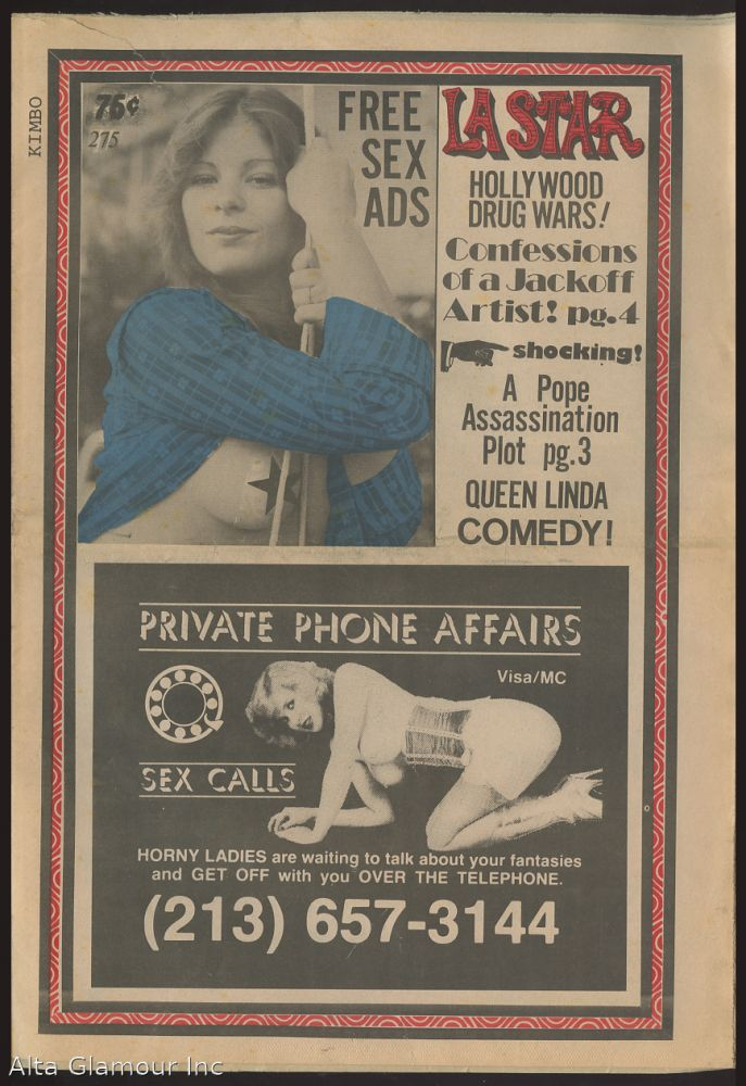 L.A. STAR; An Unauthorized Newspaper. Paul and Shirley Eberle.