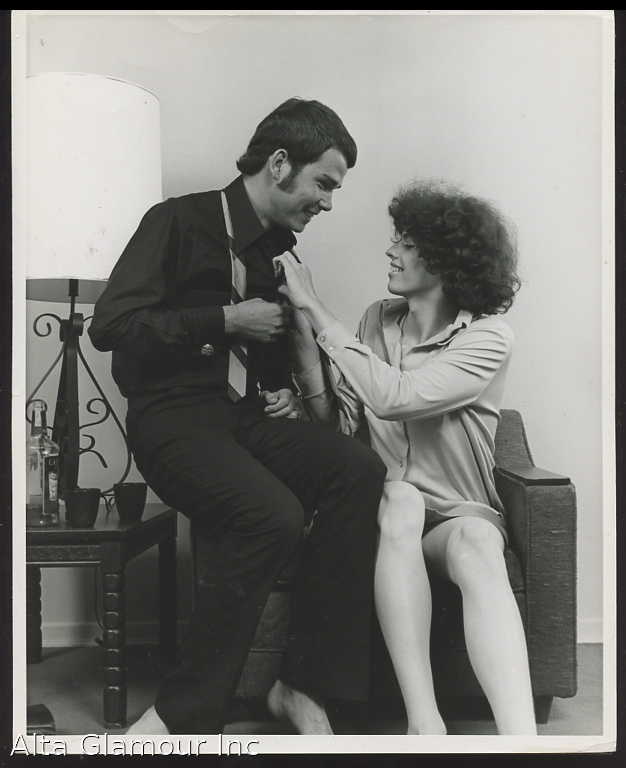 ORIGINAL PHOTO - Couple Posing In A Chair