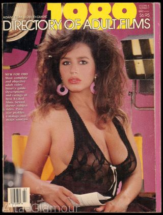 ADAM FILM WORLD GUIDE - DIRECTORY OF ADULT FILMS 1989