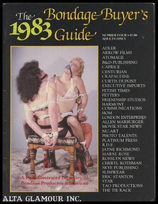 THE 1983 BONDAGE BUYER'S GUIDE