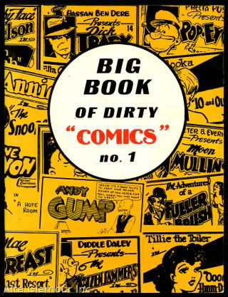 BIG BOOK OF DIRTY COMICS No. 1