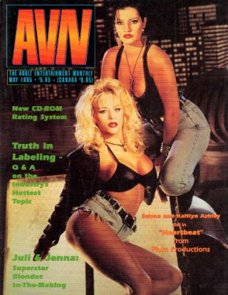 ADULT VIDEO NEWS [AVN] - May 1995; The #1 Magazine of Adult Video
