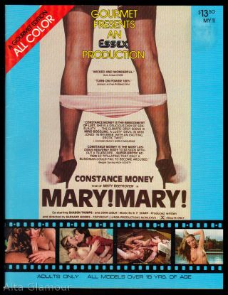 GOURMET PRESENTS AN ESSEX PRODUCTION MARY!MARY!; a Gourmet Edition All Color