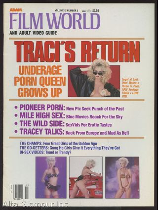 "ADAM FILM WORLD; ""And Adult Video Guide, Special Issue: Traci Returns"""