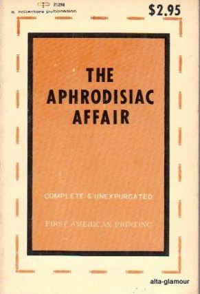 THE APHRODISIAC AFFAIR