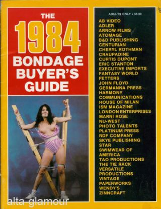 THE 1984 BONDAGE BUYER'S GUIDE- Dec. 1983