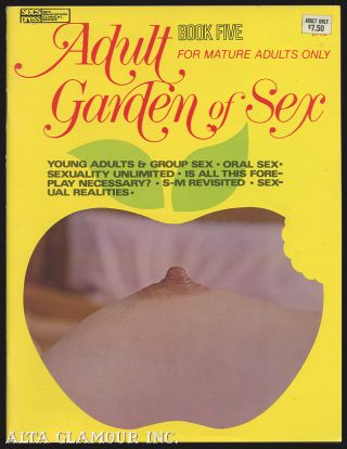 ADULT GARDEN OF SEX; Book Five