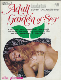 ADULT GARDEN OF SEX; Book Nine