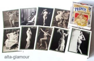 EARLY FRENCH POSTCARDS. Trading Cards.