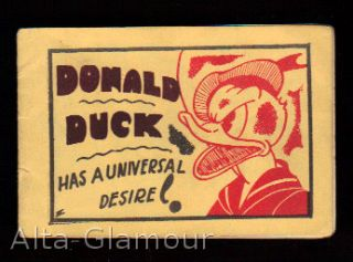 DONALD DUCK HAS A UNIVERSAL DESIRE