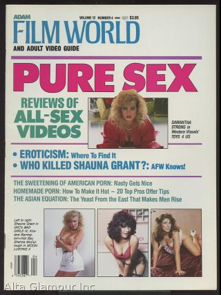 "ADAM FILM WORLD; ""And Adult Video Guide, Special Issue: Pure Sex"""