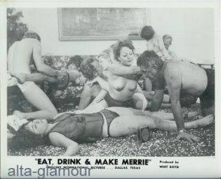 EAT, DRINK & MAKE MERRIE -- FILM STILLS
