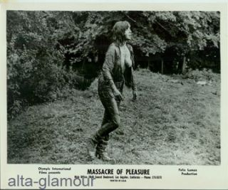 MASSACRE OF PLEASURE -- FILM STILLS