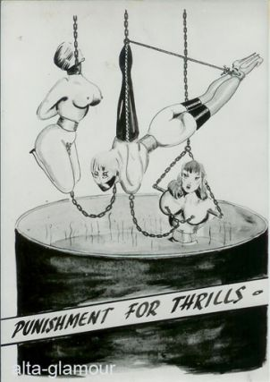 PUNISHMENT FOR THRILLS - PHOTOGRAPHIC BONDAGE ART SET