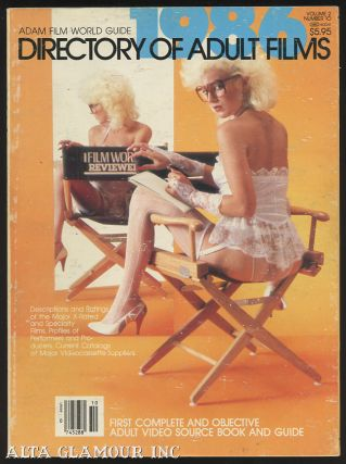 ADAM FILM WORLD GUIDE - DIRECTORY OF ADULT FILMS 1986