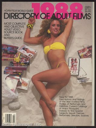 ADAM FILM WORLD GUIDE - DIRECTORY OF ADULT FILMS 1988