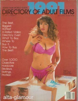 ADAM FILM WORLD GUIDE - DIRECTORY OF ADULT FILMS 1991