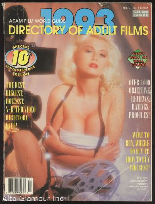 ADAM FILM WORLD GUIDE - DIRECTORY OF ADULT FILMS 1993