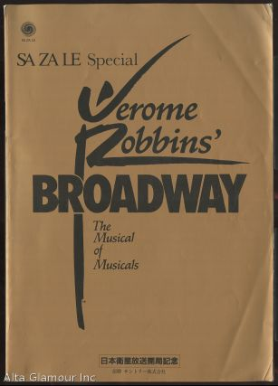 JEROME ROBBINS' BROADWAY; The Musical of Musicals