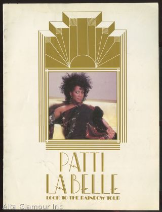 PATTI LA BELLE LOOK TO THE RAINBOW TOUR