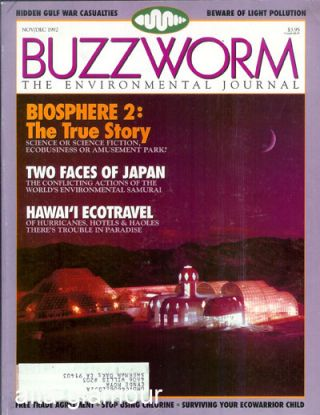 BUZZWORM; The Environmental Journal