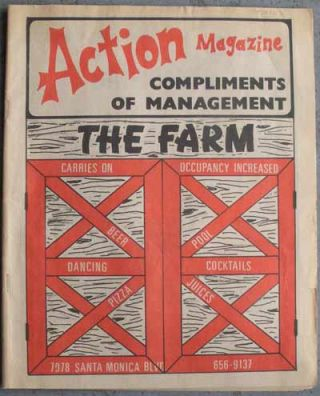 ACTION MAGAZINE; Complements of Management