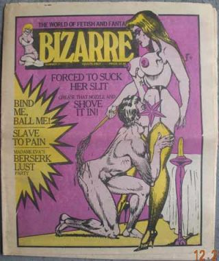 BIZARRE [Bizarre World]; The World of Fetish and Fantasy