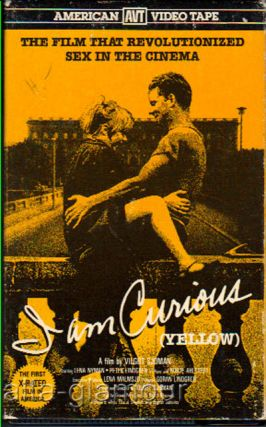 I AM CURIOUS YELLOW; VHS