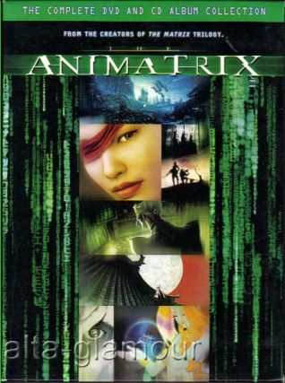 THE ANIMATRIX; DVD and CD set
