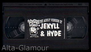 THE ADULT VERSION OF JEKYLL & HYDE; VHS