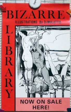 BIZARRE LIBRARY - ILLUSTRATIONS BY DIMULATTO; Now On Sale Here!