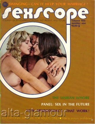 SEXSCOPE; A Survey of Sex Communications Past, Present, and Future
