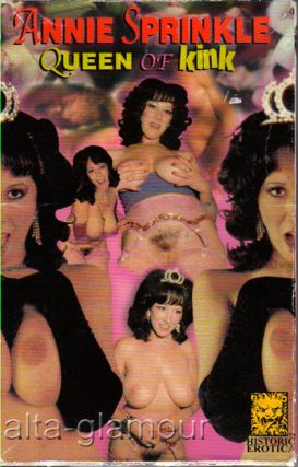 ANNIE SPRINKLE: QUEEN OF KINK; VHS