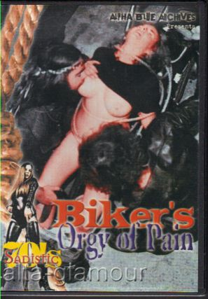 BIKER'S ORGY OF PAIN; DVD