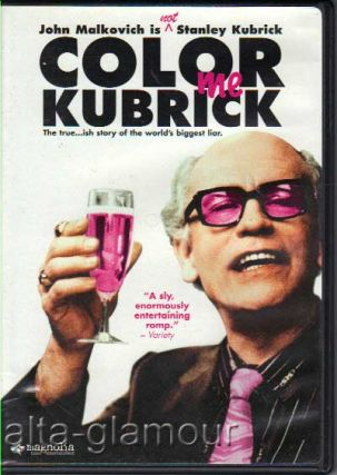 COLOR ME KUBRICK; DVD