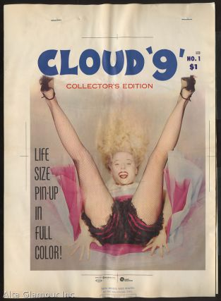 COLOR SEPARATION PROOF - CLOUD '9' Vol. 1, No. 1 [Betty Brosmer]. Milton Luros, Publisher.