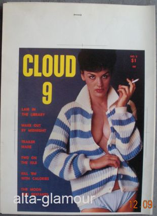 COLOR SEPARATION PROOF - CLOUD 9 Vol. 1, No. 2. Milton Luros, Publisher.