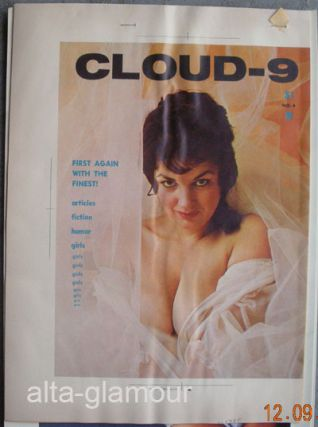 COLOR SEPARATION PROOF - CLOUD - 9 Vol. 1, No. 4 [Glenda Graham]. Milton Luros, Publisher.