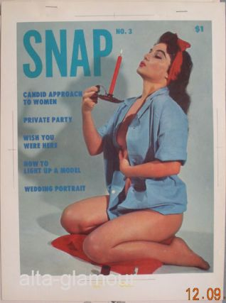COLOR SEPARATION PROOF - SNAP [Shirley Skates]. Milton Luros, Publisher.