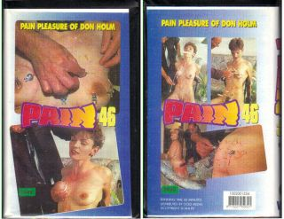 PAIN: PAIN PLEASURE OF DON HOLM; VHS