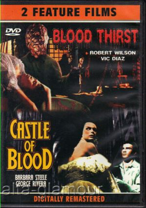 BLOOD THIRST / CASTLE OF BLOOD; DVD