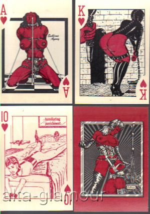BONDAGE CARDS. Playing Cards.